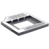 Gembird Slim tartó keret SATA 2,5' drive to 5.25' bay, 12mm