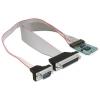 DELOCK mini PCI-E x1 -> soros port párhuzamos port multi IO vezérlő
