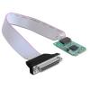 DELOCK mini PCI-E x1 -> párhuzamos port IO vezérlő