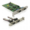 DELOCK PCI - 4 soros port IO vezérlő