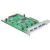 DELOCK PCI-E x4 - 4 portos USB3.0 IO vezérlő