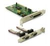 DELOCK PCI - 2S+1P soros port párhuzamos port multi IO vezérlő vezérlőkártya