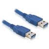 DELOCK USB 3.0 A M/M adatkábel 5m kék