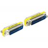 DELOCK Sub-D 25pin M/M adapter