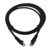 LogiLink CAT5e SF/UTP Patch Cable AWG26 black 0,25m