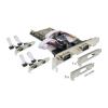 DELOCK PCI-E x1 - 6 soros port IO vezérlő