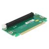 DELOCK PCI-E x16 Riser card (90° bal HTPC-hez)