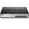 D-Link 8-Port Desktop Gigabit, 8 X PoE+ up to 30W, max. 140W