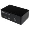 Startech Dual DisplayPort 2 portos USB KVM switch