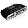 DELOCK Samsung Tablet SD/Micro SD kártyaolvasó fekete (Galaxy S2, S3, S4, Galaxy Tab3)