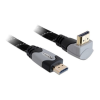 DELOCK HDMI 1.4 M/M video jelkábel 3m 90°-os