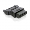 DELOCK SATA Power -> Molex Power 4pin M/F adapter