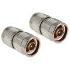 DELOCK N F/F adapter nikkel