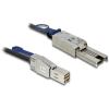 DELOCK SAS mini SFF-8644 -> SAS mini SFF-8088 M/M adatkábel 3m fekete