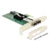 DELOCK PCI Express Card > 2 x SFP Slot Gigabit LAN