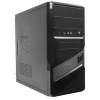 Gembird case CCC-D2-01 Midi Tower Micro ATX without power supply, black
