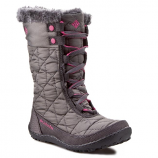 Columbia Hótaposó COLUMBIA - Youth Minx Mid II Waterproof Omni-Heat BY 1313 Shale/Glamour 051