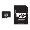 16gb micro sd memória kártya + adapter / class 10