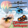 Ultramini távirányítós helikopter 1:87 H0 - Syma S6 Mini RC / 3 csatornás gyroszkópos