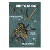 Dinoszaurusz notesz A/7, többféle minta