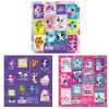 Littlest Pet Shop matrica 16x16cm
