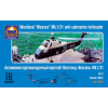 "Ark Models Westland ""Wessex"" HAS Mk.1/31 British anti-submarine helicopter repülőgép makett Ark Models AK72032"