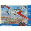 Ark Models Polikarpov I-16 Type 10 Russian fighter. Ace Valery Chkalov repülőgép makett Ark Models AK48001