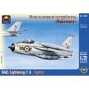 "Ark Models BAC ""Lightning"" F.6 British fighter interceptor repülőgép makett Ark Models AK72025"