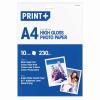 Fotópapír, A/4, 230gr, 10lap/cs
