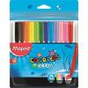 MAPED Filctoll készlet, 2 mm, kimosható, MAPED Color`Peps Ocean, 12 különböző szín (IMA845720)