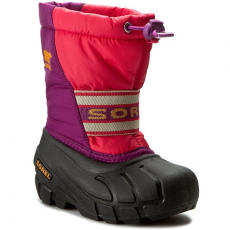SOREL Hótaposó SOREL - Childrens Cub NC 1881-634 Afterglow/Bright Plum