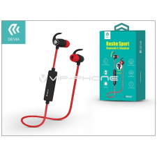 Devia Devia Roshe Sport Bluetooth sztereó headset v4.1 - MultiPoint - black/red headset