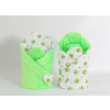 Pólya - Minky 2 oldalas Zöld békák