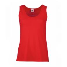 Fruit of the Loom Valueweight Vest Női trikó, piros