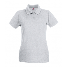 Fruit of the Loom Női premium piké polo, sportszürke