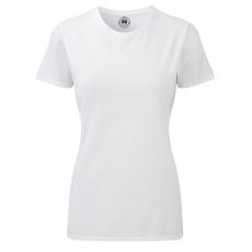 RUSSEL Karcsúsított fazonú, Russell Női póló, fehér