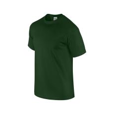 GILDAN ultra előmosott pamut póló, sötétzöld