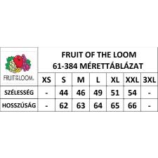 Fruit of the Loom FoL Lady-Fit hosszú ujjú, kereknyakú póló, fekete női póló
