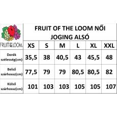 Fruit of the Loom női jogging alsó, sportszürke