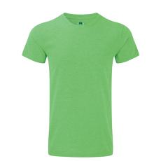 RUSSEL Karcsúsított fazonú, Russell férfi póló, Green Marl