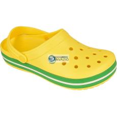 CROCS papucsCrocs Crocband 11016 żółto-zielone