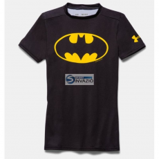 Under Armour Compression Alter Ego Batman Junior Kompressionsshirt 1244392-006