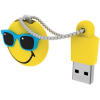 Emtec 8GB ''MR Hawai'' Smiley World USB 2.0 sárga pendrive