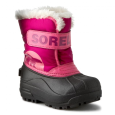 SOREL Hótaposó SOREL - Childrens Snow Commander NC 1877-652 Tropic Pink/Deep Blush