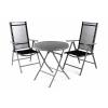 OEM Kerti készlet asztalból és székekből - fekete