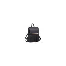 Miss Lulu London E1669- MISS LULU vonatdi TEXTUpiroshátizsák táska fekete