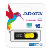 ADATA DashDrive UV128 16GB USB 3.0 Black+Yellow Flash Drive