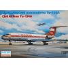 Eastern Express Tupolev Tu-134A Russian short / medium-haul airliner, Interflug repülőgép makett Eastern express EE14416