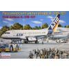 Eastern Express Airbus A318-121 European short / medium-haul airliner repülőgép makett Eastern express EE14441