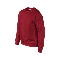 GILDAN környakas unisex pulóver, cardinal red